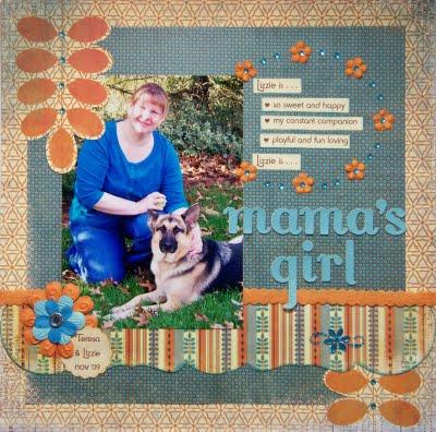 My entry Mama's Girl