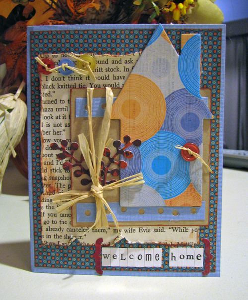 Welcome home card resize