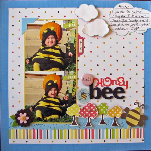Cute honey bee resize