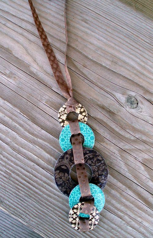 Graphic 45 Drop Necklace