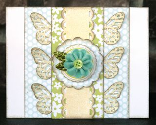 Jillibean Flower Tutorial Card