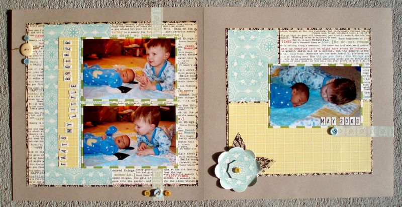 My Brother 2 pages