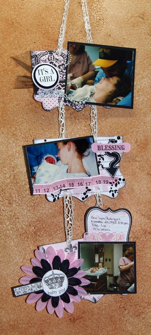 Baby wall hanging