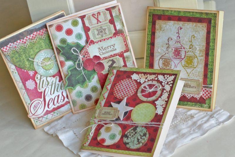 Betsy V Christmas Card Class